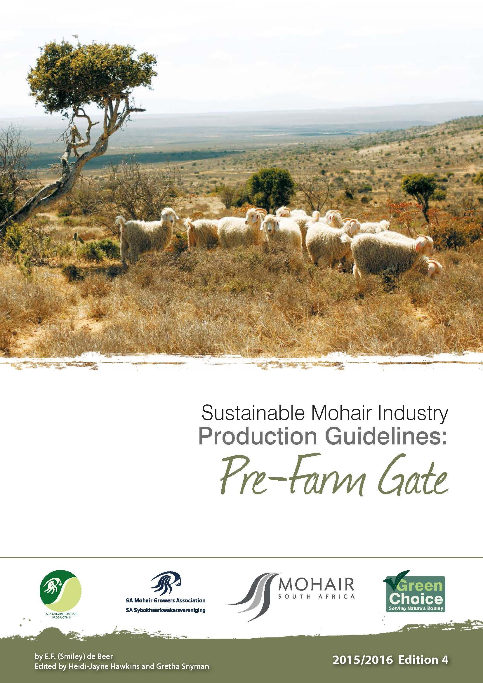 MSA Sustainable Mohair Production Guidelines 2015-2016