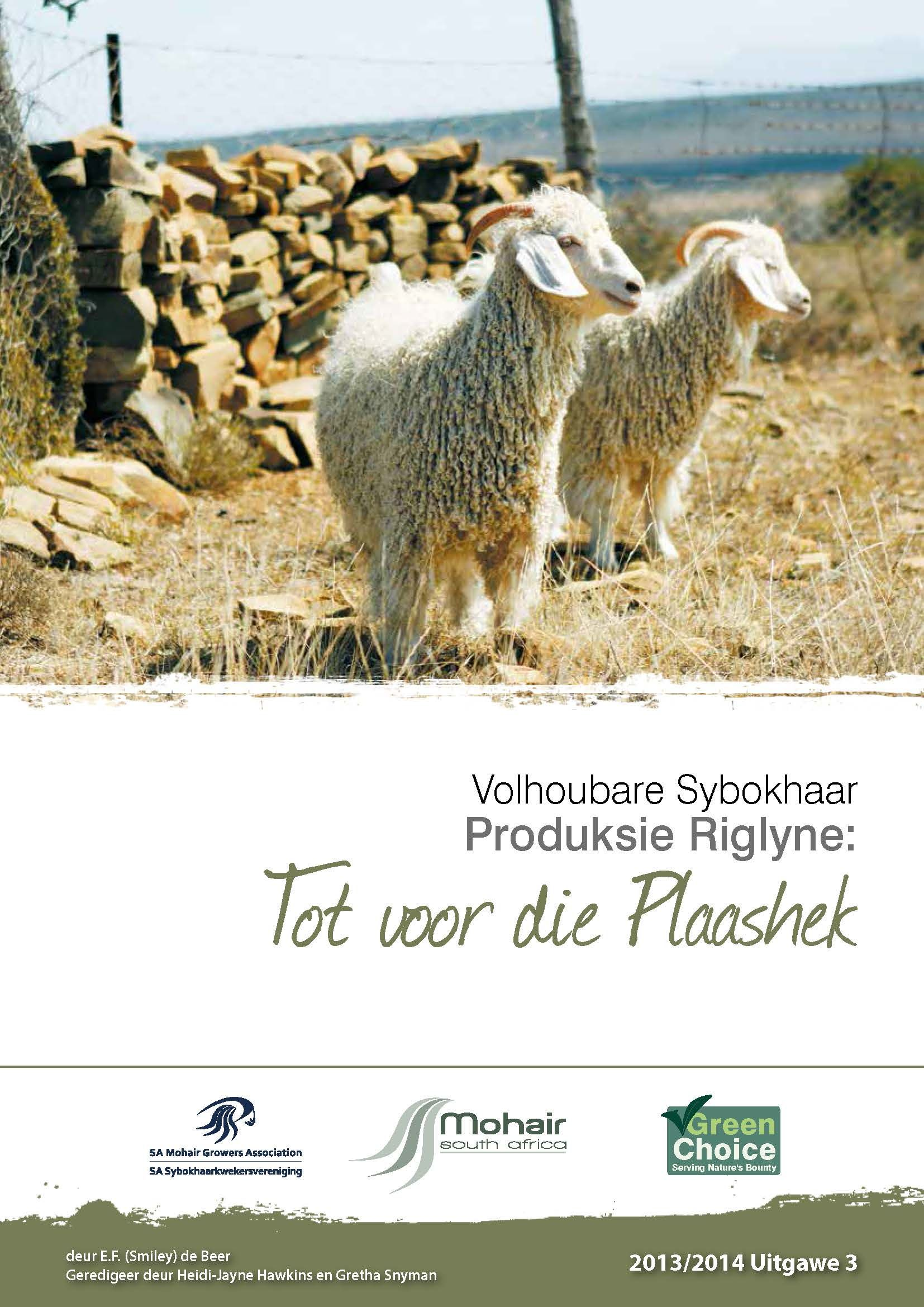 MSA Sustainable Mohair Production Guidelines 2013